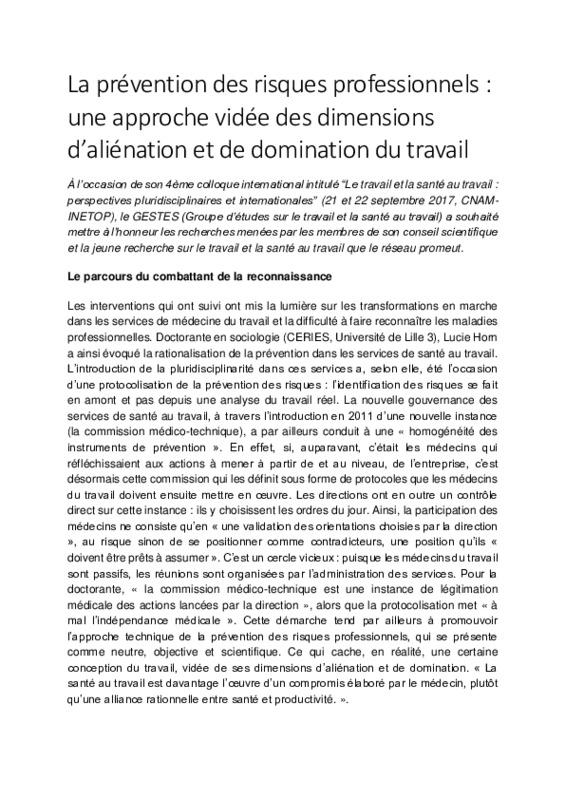 CR3-La prévention des risques professionnels.pdf